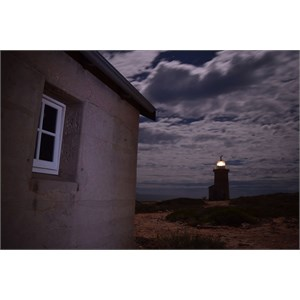 Cape Inscription Lighthouse and quarters