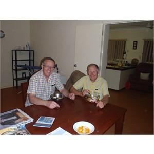 Two Voluntary ICV workers Burringurrah 2011