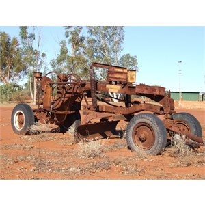 a well used grader