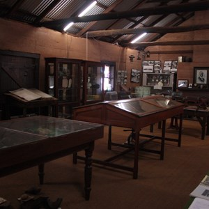 Inside the Murchison Museum