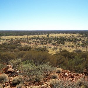 View to north west from Mount Colin
