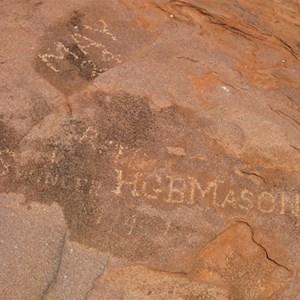 Lang Rock Inscriptions