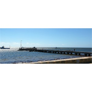 Leeman commercial jetty.