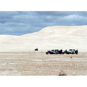 The Lancelin sand dunes are a legendary 4WD destination.