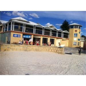 Surf Club from beach