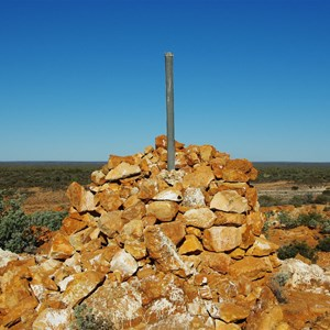 Stone Marker on top of Point Kidman