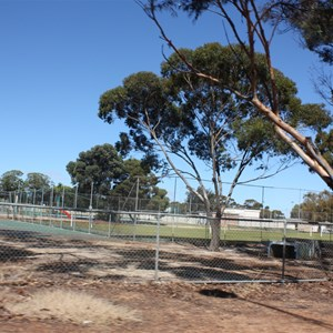 Sports ground at Lake Grace