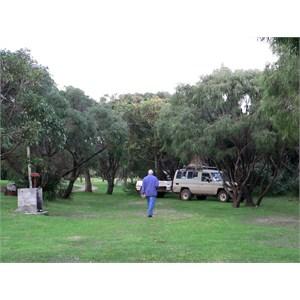 Peaceful Bay Caravan Park has good camp kitchen (2009)