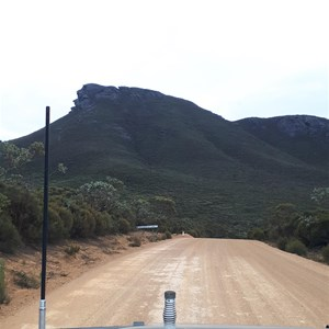 View of Talyuberlup Peak from Stirling Ranges Rd
