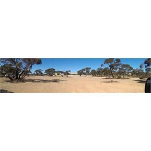 Camp area at Caiguna