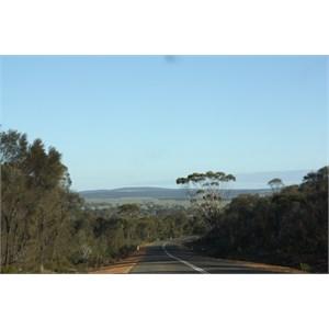 Road to Ravensthorpe from Hopetoun WA