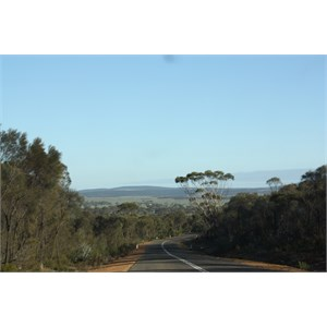 Road to Ravensthorpe from Hopetoun WA
