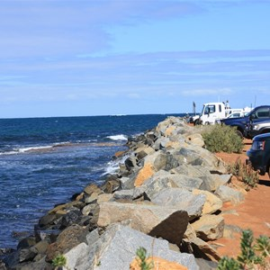 East side of the Jetty at Hopetoun
