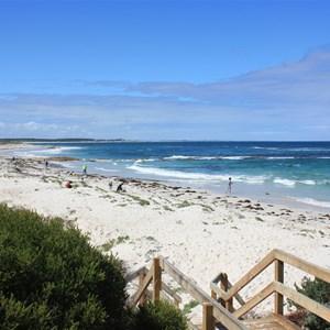 Beach east of Hopetoun