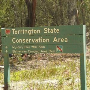 Within Torrington State Recreation Area