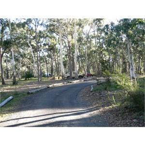 NP camping area at Apsley Falls