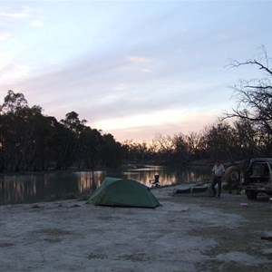 Chowilla Game Reserve Camp area