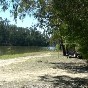 Campsite along Murray River