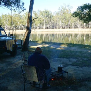 Murray River campsite
