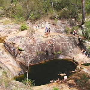 Mumbulla Creek Falls swimming hole