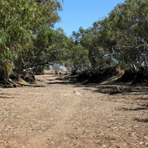 Dried out Rudall River