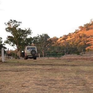 Grassy camping areas