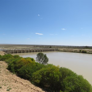 Copi hollow full, Menindee empty - Sept 2020