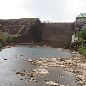 Tully River downstream of the dam