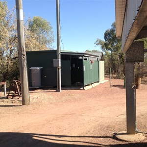 Toilets and showers in campgrounds