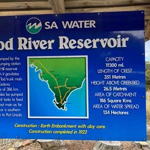 Tod River Reservoir