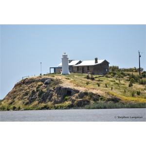 Point Malcolm overlooks Lake Alexandrina