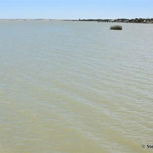 Lake Albert at Meningie