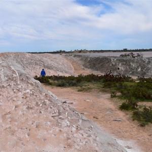 Salt Stockpile