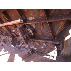 old salt mining equipment