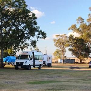 Camping area at Caravan Park