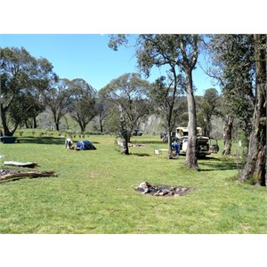 Blue Waterholes camping area