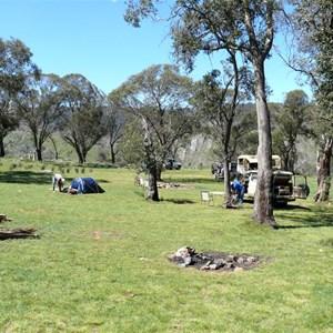 Blue Waterholes camping area