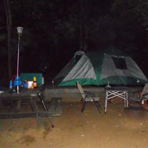 Worker's Pool campsite
