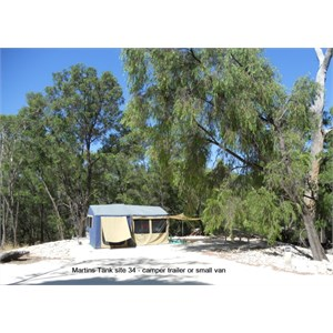 Martins Tank Campground - Camper trailer / small caravan site