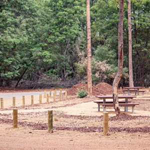 Day use picnic area undergoing upgrade March 2020
