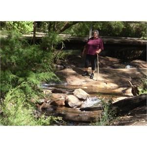 Hiking at Lane Poole Reserve