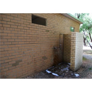 Old ablutions block