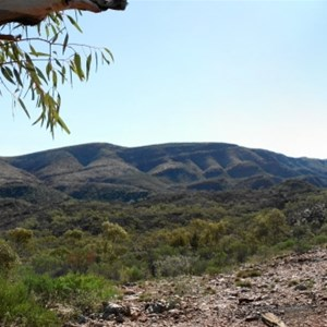 panoramic view from the campground
