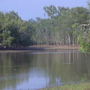 Billabong near rosie fishing camp