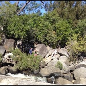 Plenty of rocks in Granite Creek.