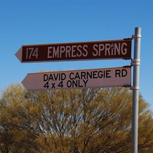 Gunbarrel Hwy & David Carnegie Rd