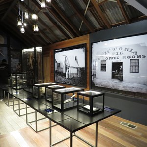 Inside the Heritage Centre