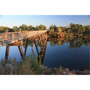 Fitzroy River bridge, FITZROY CROSSING WA