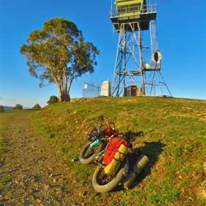 Fire Tower   MT POREPUNKAH