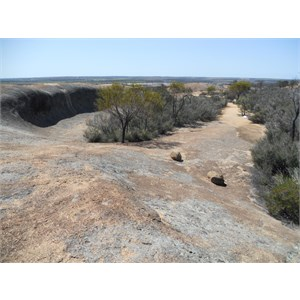 On top of Hyden Rock